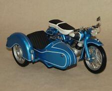 Schuco - Motorrad NSU Supermax metallic-blau Beiwagen Gespann - Maßstab 1:10