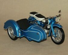 Schuco-MOTO NSU SUPERMAX metallico-Blu carrozzetta alleanza-scala 1:10