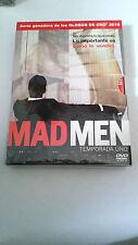 """DVD """"MAD MEN TEMPORADA UNO 1"""" 4 DVD DIGIPACK"""