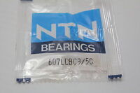 NTN 607LLBC3 Single Row Ball Bearing New