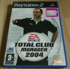 New listing Total Club Manager 2004 ...Playstation 2 Game