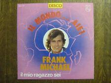FRANK MICHAEL 45 TOURS BELGIQUE IL MONDO ALE 1