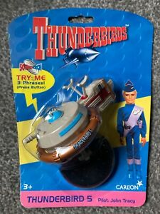 Thunderbird 5 soundtech Space Station new on card by Vivid Imaginations 1999.