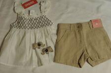 Gymboree Desert Flower Size 4 Adjustable Waist Shorts Shirt Outfit NWT