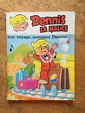 bande dessinee Dennis la malice bon voyage Monsieur Dennis