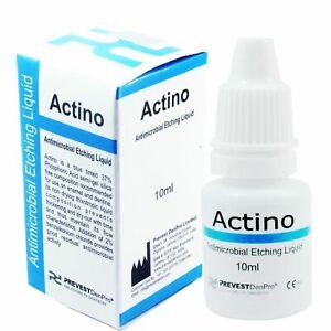 Actino Liquid Etchant Dental Antimicrobial Etching Tooth Enamel & Dentine 10ml