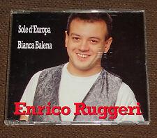 Eurovision Song Contest 1993 Italy Enrico Ruggeri Sole d'Europa CD single