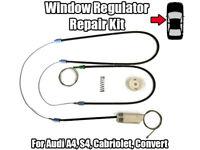 1x Window Regulator Repair Kit For Audi A4 Cabriolet Convert Front Left 02-12