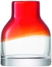 LSA International Loft Vase H10 cm Red Fade - New