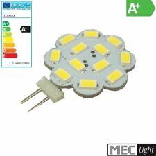 G4 LED Zócalo Pin - 12x SMD 5630 - 250Lm-2,9W (Flor) - Blanco Cálido