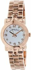 Marc Jacobs Mini Amy White Dial Rose Gold-tone Stainless Ladies Watch MBM3078