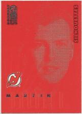 1997-97 DONRUSS STUDIO - SILHOUETTES - MARTIN BRODEUR 1105/1500