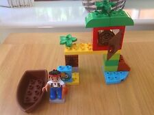 LEGO Duplo Jake Neverland pirati caccia al tesoro Set 10512 COMPLETO