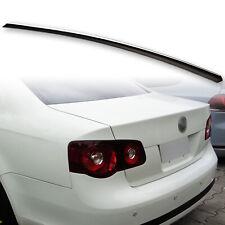 Fyralip Rear Boot Lip Spoiler For VW Jetta MK3 MK5 Painted Black L041 05-10
