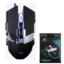 2400DPI LED Optical USB Wired Gaming Mouse Gamer Mice for PC Laptop Computer