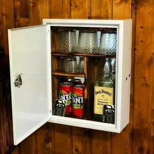first aid kit mini bar NEW jerry can man cave handmade metal gift medic