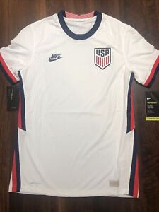 New Nike Team USA Mens Vaporknit Soccer National Team Jersey Size 3XL White