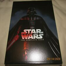 Star Wars: The Complete Saga (DVD, 2015, 12-Disc Set) Pre-Owned