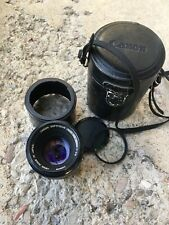 CANON SOFTFOCUS LENS FD 85mm f2.8 In Canon EF Mount Minty