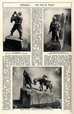 Kaiserjäger (Elitesoldaten der Monarchie) Illustr.Original-Bericht von 1917