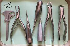 Pre Owned Dental Instruments Lot 7 Pcs