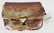 ** KC JAGGER  IVORY Pale Pink Sequin Shoulder Bag Msrp $95.00