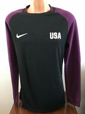 USA Soccer Nike Aeroswift Goalie Long Sleeve Jersey Purple Mens Sz Large 881814