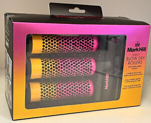 MARKHILL PERFECT BLOW DRY ROLLERS WITH DETACHABLE HANDLE GIFT SET DISCONTINUED