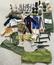 Vintage Action man job lot accessoires Palitoy Toys 70 S 60 S GI Joe