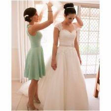 Hot! New White/ivory Wedding dress Bridal Gown custom size 6-8-10-12-14-16 18+++