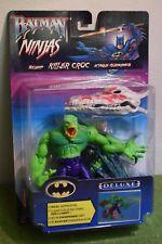 KENNER Batman Figura De Lujo KILLER CROC Ninjas