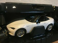 1:18 Triple9 Mazda MX5 MX-5 ND NR-A 2015 White NEW