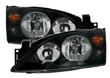 Scheinwerfer Set für FORD MONDEO MK3 00-07 in Schwarz links + rechts
