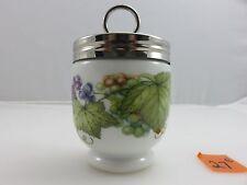 Royal Worcester VINE HARVEST Egg Coddler Cup Made In England UNUSED