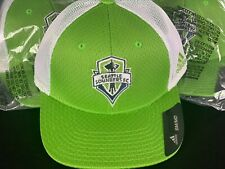 Seattle Sounders MLS Adidas Structured Flex Meshback S/M