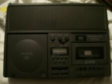 VINTAGE EIKI 7070 CASSETTE TAPE RECORDER WITH CD PLAYER TESTED PLAY ON CD & TAPE