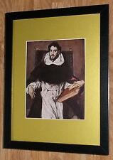 Framed 12''x16'', El Greco, Fray Hortensio, masters paintings, Bible Paintings
