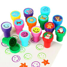 Kids Self-ink Stamps 100 Pieces Assorted Stamps New Great for party's