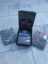 186 Piece Tool Kit - Muller Kraft - includes lockable and wheelable case