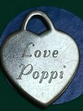 Charm J36 Love Poppi Sterling Silver Vintage Bracelet