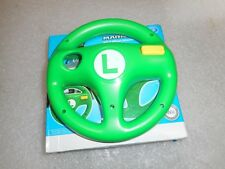 HORI MARIOKART8 Wii AND Wii U WHEEL ATTACHMENT LUIGI GREEN WIU-080U (A01)