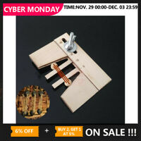 Wooden Dead Eyes Mooring Tools Fix Tool for Wood Ship Model Kit