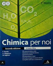 CHIMICA PER NOI  C-D-E-F-G-H  Linea Blu  Allegrezza  A.MONDADORI  9788824752770