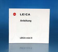 Leica Mini II istruzioni German manual - (25985)