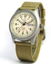 Seiko 5 Sports Military Nylon Strap Watch SNZG07K1