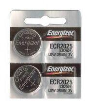 2 pcs Energizer CR2025 CR ECR 2025 3v Battery