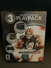 New Sealed Madden 12 PlayPack - 3 Madden NFL Experiences PS3 PC or Android