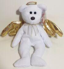 "TY Beanie Babies ""HALO II"" ANGEL Christmas Bear - MWMTs! RETIRED! GREAT GIFT!"