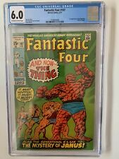 Fantastic Four #107 CGC 6.0 - 1st Appearance of the Nega-Man