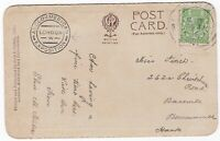 # 1914 SHEPHERDS BUSH SPECIAL PMK ANGLO-AMERICAN EXPOSITION CACHET COURT HONOUR